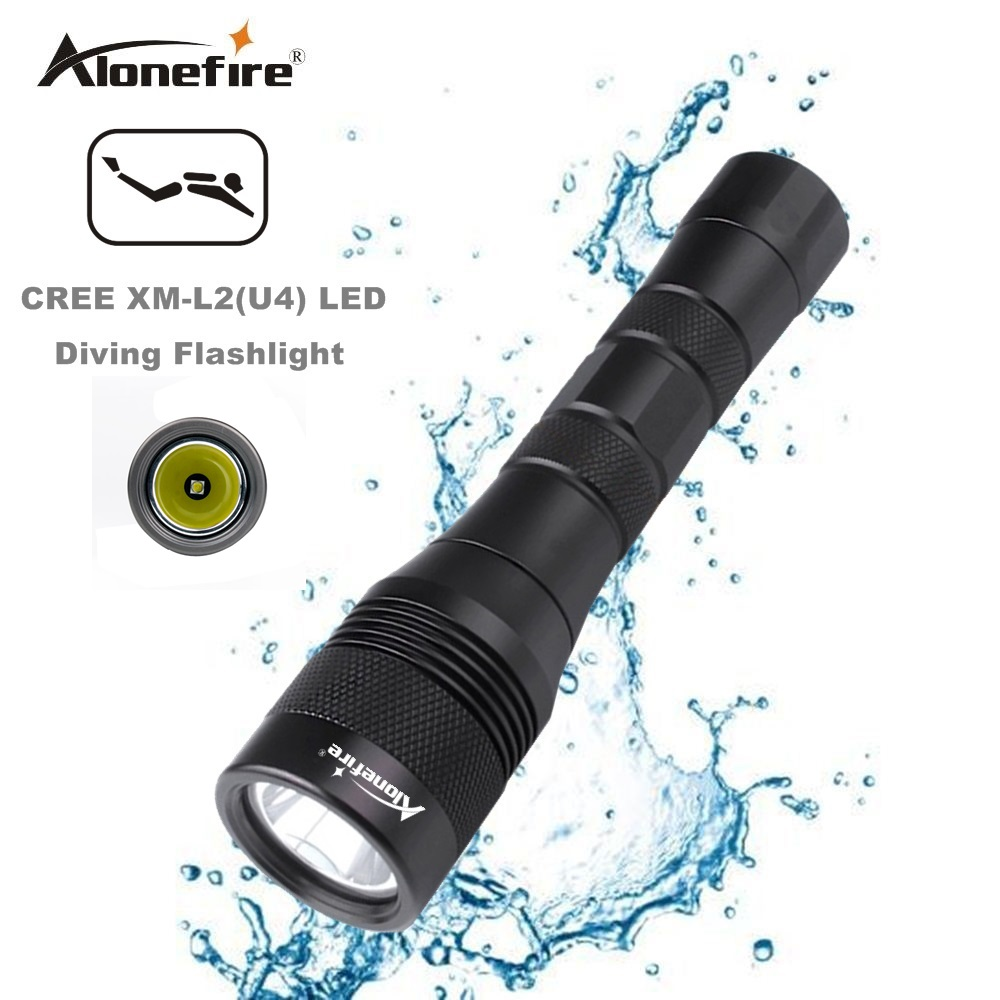 2017 NEW AloneFire DV47 Diving flashlight Torch XML L2 LED Waterproof Underwater Lamp Dive 150m Lamp lanterna led diver torch waterproof ultraviolet diving light 3x uv led lamp diving flashlight scuba torch dive lanterna pcb 26650 battery eu charger