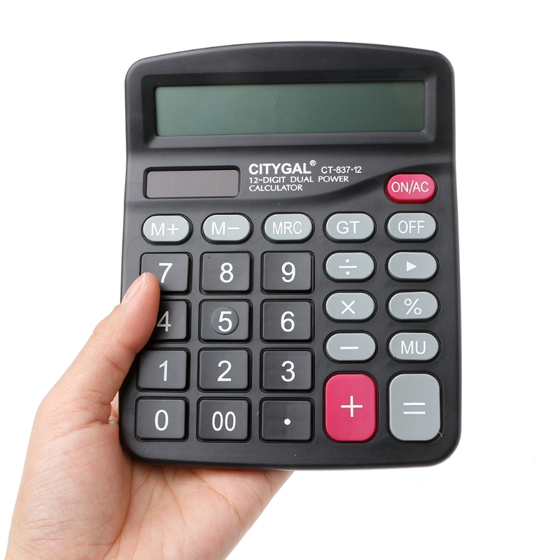 Aliexpress.com : Buy 12Digit Large Screen Calculator Solar