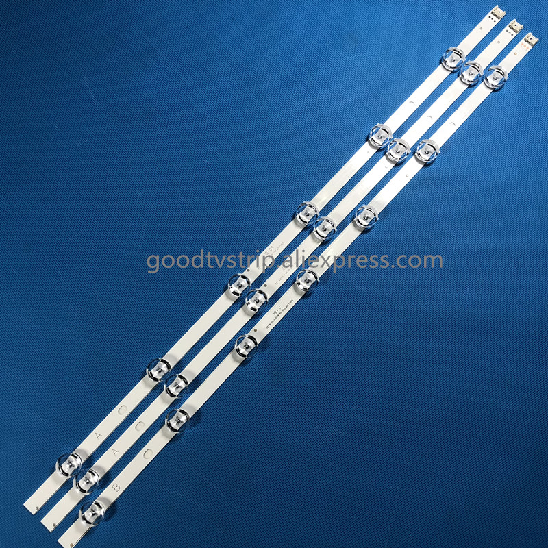 59 cm retroiluminação LED 6/7 lâmpadas para LG 32 polegada TV POLA 2.0 POLA2.0 32 HC320DXN-VSFP4-21XX LG32LN5100 32LN545B 32LN5180 32LN540B
