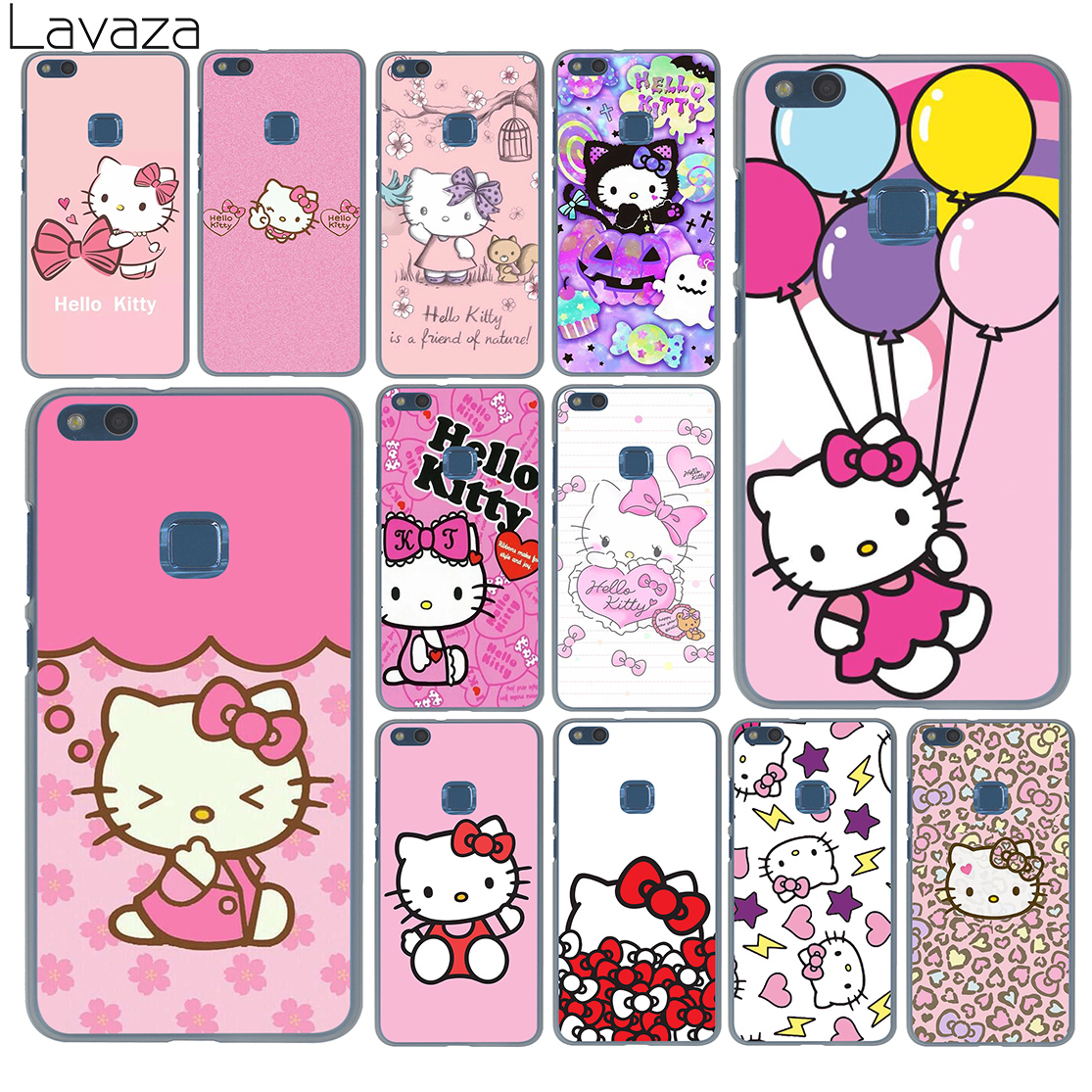 876f67a00c2 Lavaza lovely cute Hello Kitty lovely pink Case for Huawei P20 P9 P10 Plus  P8 Mate 20 Pro 10 Lite Mini 2016 2017 P smart 2019