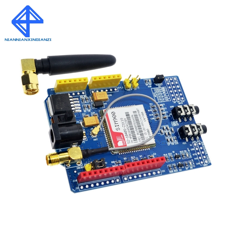 SIM900 850/900/1800/1900 MHz GPRS/GSM Development Board Module Kit For ArduinoSIM900 850/900/1800/1900 MHz GPRS/GSM Development Board Module Kit For Arduino