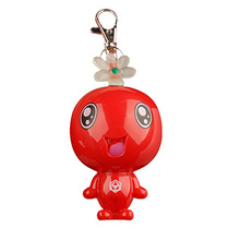 Cute doll alarm Red color mini alarm gifts for girls and kids portable and beautiful girls defense device