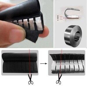 Image 3 - Hoge Kwaliteit 1M Epdm En Staal Noise Isolatie Afdichting Rubber Strip Stalen Plaat Auto Accessoire Onderdak Van Windgeruis