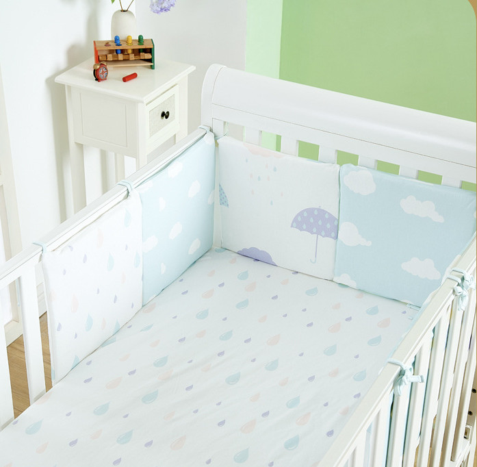 2018 Hot Flexible Combination Star Bed Bumper Comfortable Protect The Baby Easy To Use Baby Bumpers In The Crib Bumper