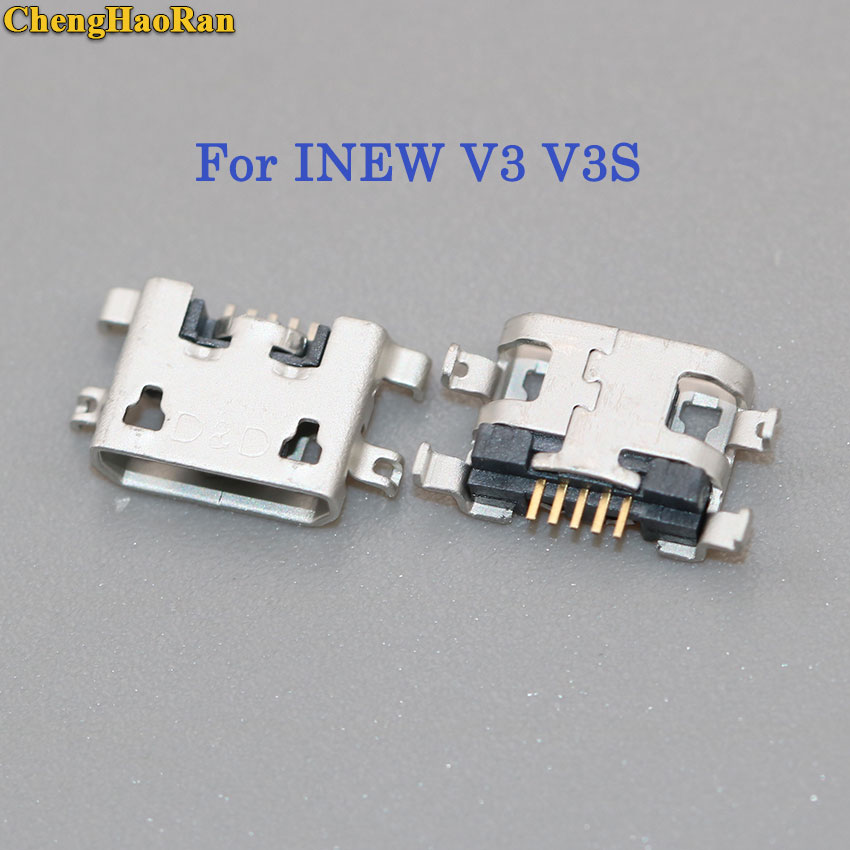 ChengHaoRan 2-10pcs Micro USB Jack Connector Charging Port DC Power Socket Usb Jack For INEW V3 V3S