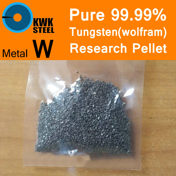 Pure Tungsten Pellet 99.99% Wolfram Solid Particles Grain Granule Metal W University Experiment Research Free Fast Shipping