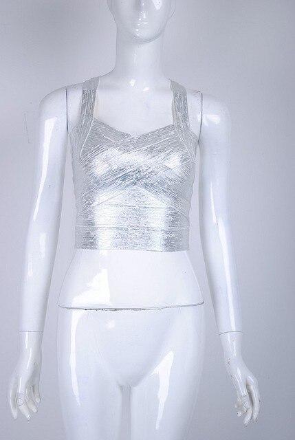 2017 nueva plata con cuello en v vendaje de las mujeres tops camis atractivo de la alta calidad al por mayor dropshipping