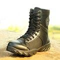 Открытые летние мужские Дышащий Высокий Верх Военная Тактика Сапоги Моды для Мужчин Армии Боевые Сапоги Ботинки Botas Хомбре