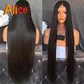 Indian Remy Lace Front Wigs Full Lace Human Hair Wigs Glueless Straight U Part Brazillian Wigs Lace Frontal Wig With Baby Hairs