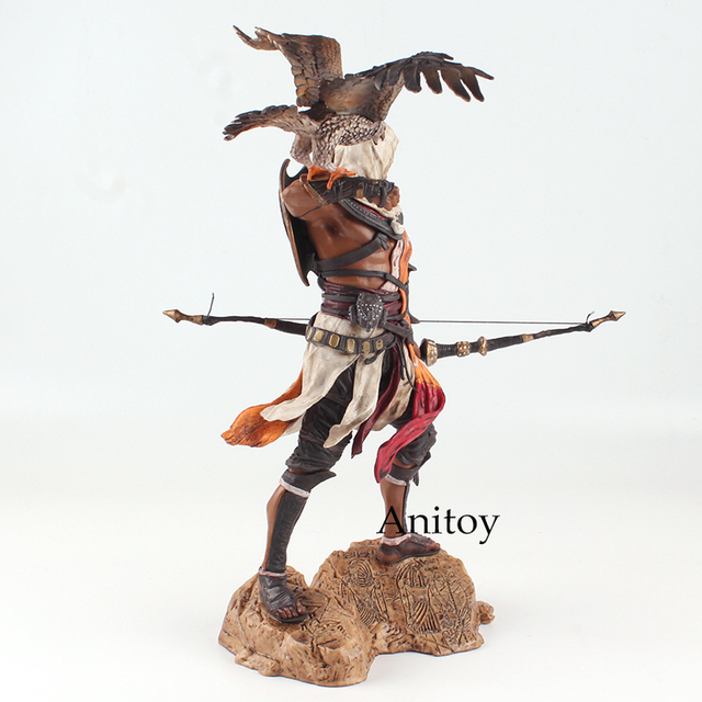 Assassins Creed Assassin's Creed Origines Bayek Protecteur with his eagle PVC Action Figure Model Toy Gift 28cm 4