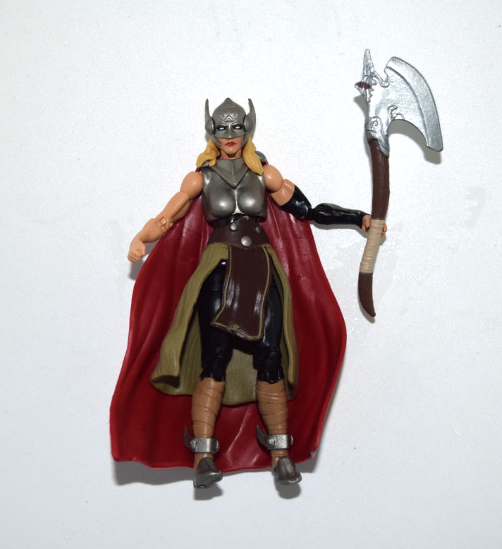 """Marvel Universe Jane Thor With Axe Weapon 3.75"""" Loose Action Figure"""
