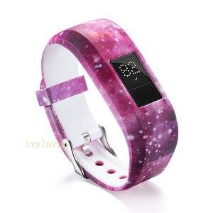 Image 4 - 24 цвета мягкий наручный браслет ремешок держатель для Garmin VivoFit Jr/для Garmin VivoFit JR 2 JR2 Junior трекер активности одежда