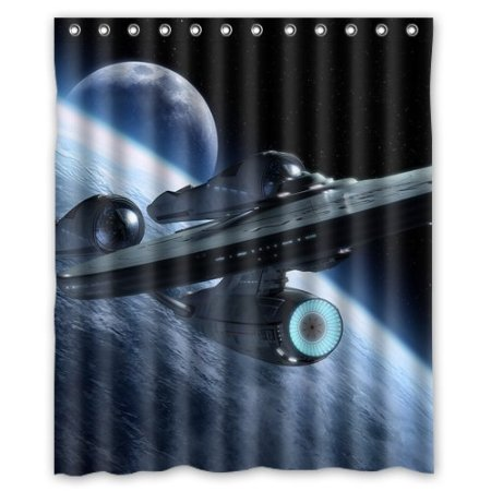 Unique Star Trek Transporter Shower Curtain