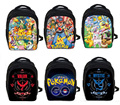 Anime Pokemon GO Kindergarten Backpack Pikachu Children School Bags Boys Girls School Backpacks PokeBall Schoolbags Kids Bag
