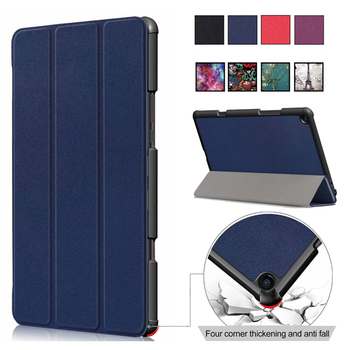 For Xiaomi mi pad 4 plus Smart Print Case Tablet Frosted shield MIPAD4 PC+PU Leather Flip Cover MIPAD 4 4PLUS Sleeve shell 10″