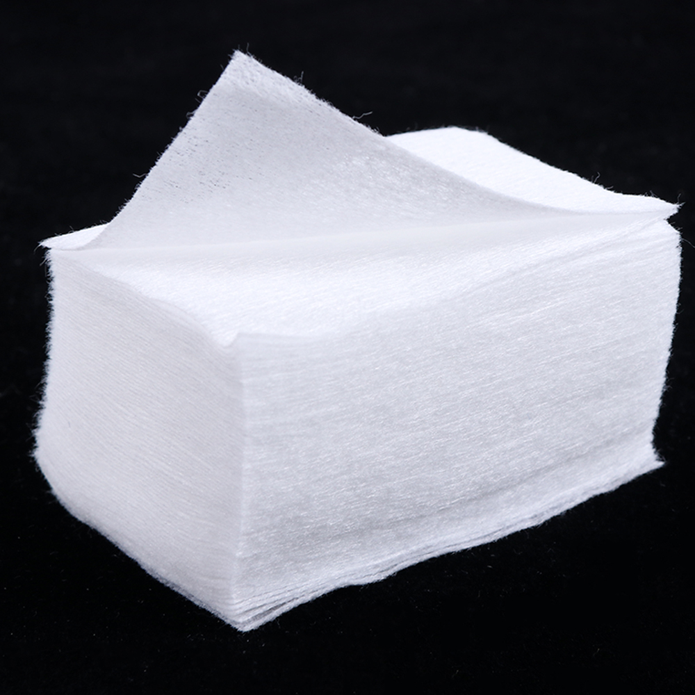 100/200 Pcs Nail Polish Removal Wipes Lint Free Pure Cotton Nail Wipes Manicure Cotton Pads Paper Nail Art Cleaner Tools SA899