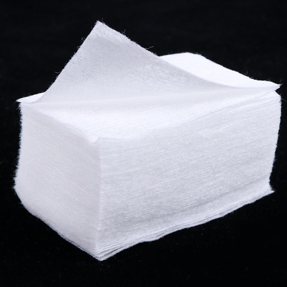 100/200 Pcs Nail Polish Removal Wipes Lint Free Pure Cotton Nail Wipes Manicure Cotton Pads Paper Nail Art Cleaner Tools SA899