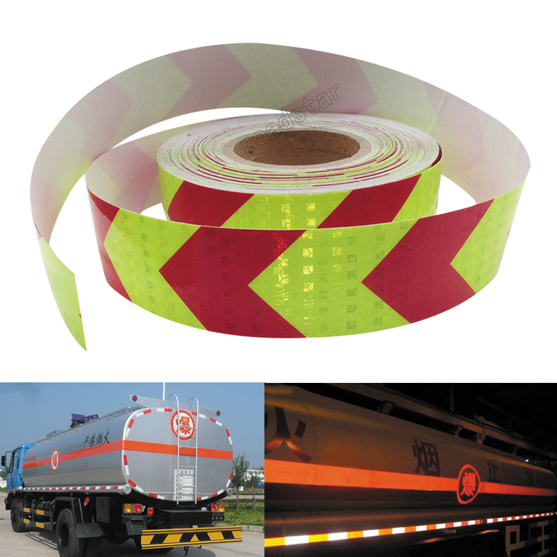 5cm*10m Reflective Adhesive Tape For Car Styling Motorcycle Decoration Reflective Warning Tape