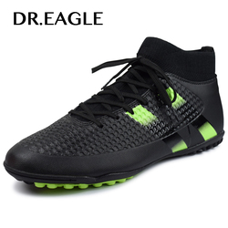 Men's futzalki football shoes sneakers indoor turf superfly futsal 2017 original football boots ankle high soccer boots cleats