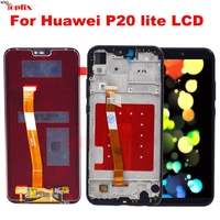 100% Tested For Huawei P20 Lite LCD Display Touch Screen Digitizer Assembly with Tools For 5.84'' Huawei P20 Lite Nova 3E Screen
