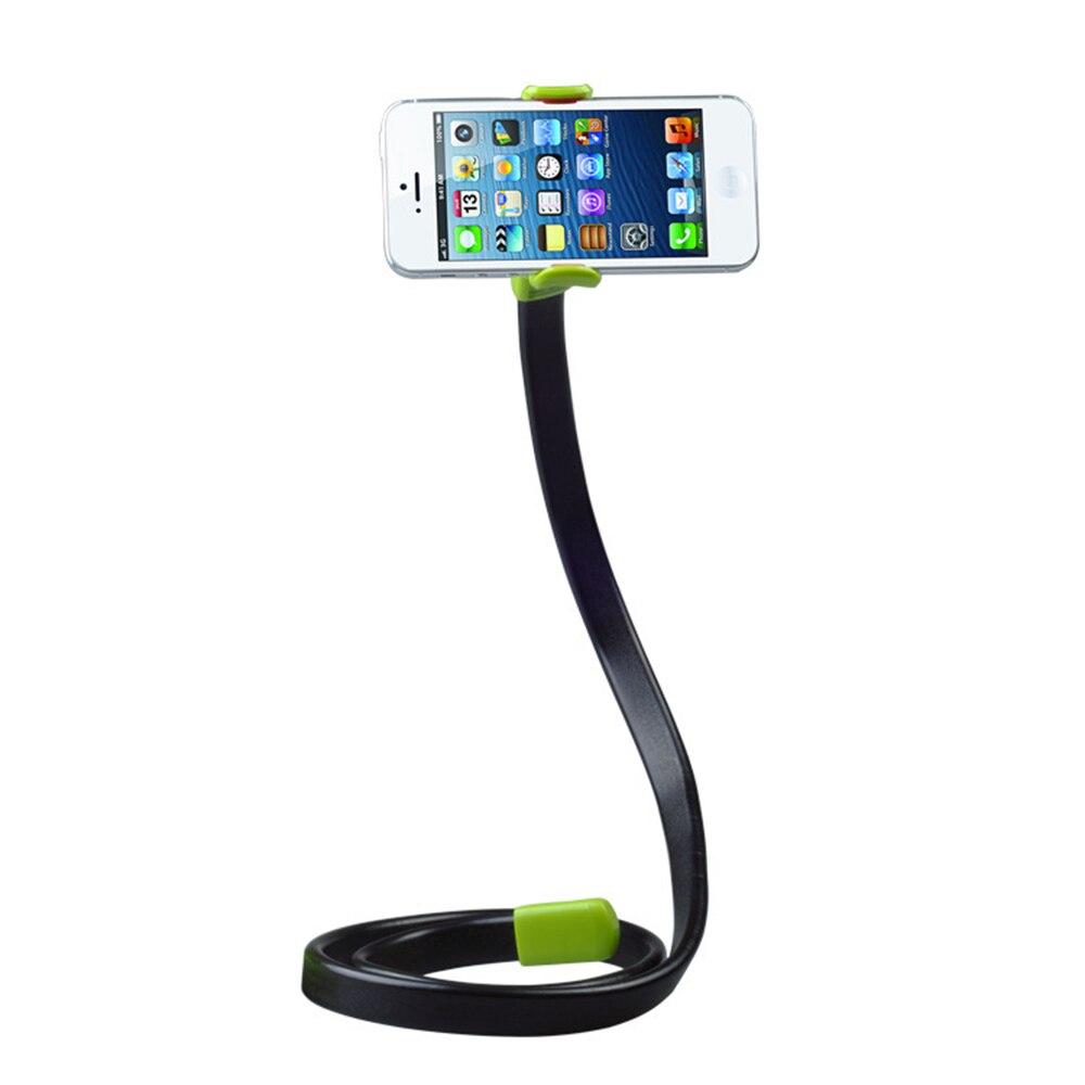 360 Вращающийся Универсальный Ленивый мобильный телефон клип держатель палка для селфи стол кровать подставка для iPhone 5S 6 Plus 5.5 Samsung andriod зелен…