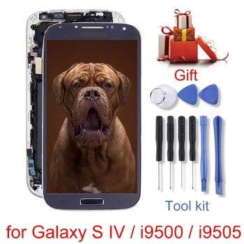 Wyświetlacz LCD (TFT) + panel dotykowy z ramką dla Galaxy S IV/i9500/i9505/S8/G950/S8 +/ g955/dla Galaxy Note 3 Neo/N7505 Replaceme