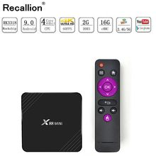 цена на X88 Mini Android 9.0 Tv Box 2Gb Ram 16 Gb Rom 4K Media Player Support H.265 Uhd 2.4Ghz Wifi Set-Top Box Rk3318 Quad-Core 64Bit