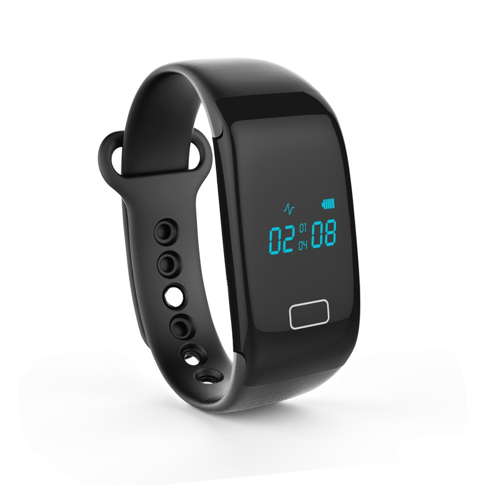 Smartband JW018 Heart Rate Monitor Bracelet Bluetooth Passometer Sports Fitness Tracker Wristbands for iPhone Andriod Phone