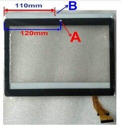 Czarny biały 10.1 I dla mediatek Tab ZH960 3G 4G pojemnościowy ekran dotykowy panel wymiana naprawa części zamienne|Ekrany LCD i panele do tabletów|Komputer i biuro -