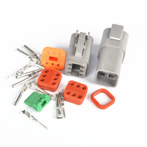 Image 5 - Водонепроницаемый Электрический автомобильный провод, 1 комплект, 2/3/4/6/8/10/ Pin, 14 18 AWG 12P, гнездовой и мужской, серый, для соединителя автомобиля