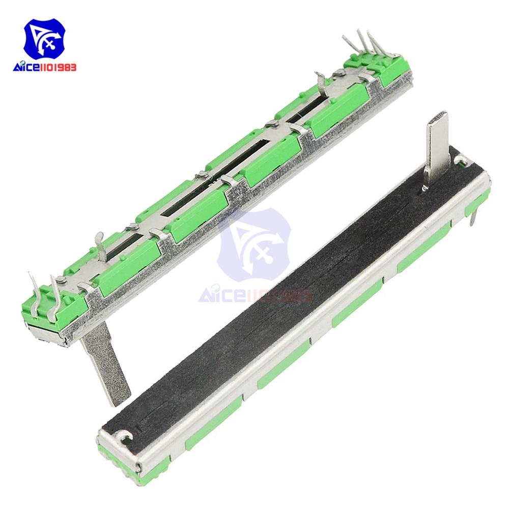 1 Piece Potentiometer Resistor B103 10K Ohm Slide Potentiometer Double Linear 10K Potentiometer