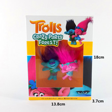2017 Trolls Anime Action Poppy Branch Plastic Vinyl Glue Model Figure Home Car Party Decoration Man