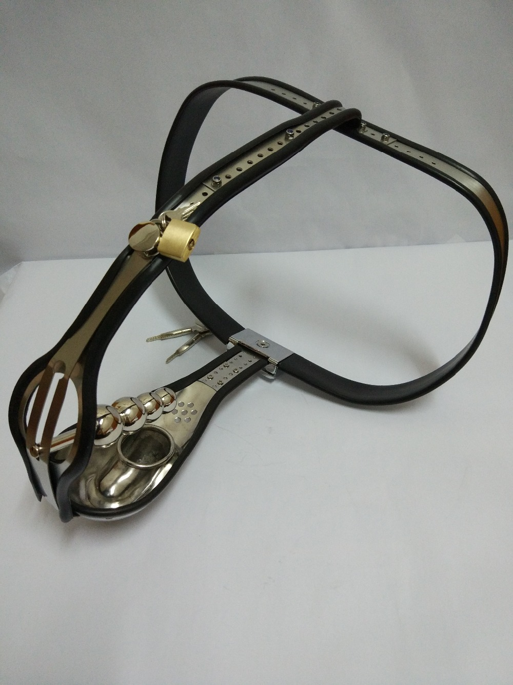 products sex shop stainless steel design male chastity belt cock cage anal plug sex toys bdsm bondage set sexy sextoys for men. sex shop small male penis confinement chastity cage metal cock ring cockring chastity belt toy sex toys for men free shipping