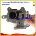 TD025 турбонагнетатель 28231 27000 49173-02410 49173-02412 турбонагнетатель турбо части для двигателя hyundai или kia D4EA