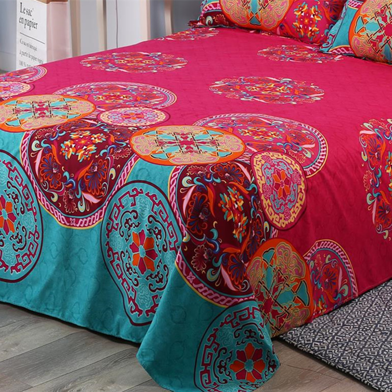Bohemian 1pc Bed Cover 3d  Mandala Printing Bed Sheet  Indian Home Decor Bedspread Tapestry Wholesale Hot
