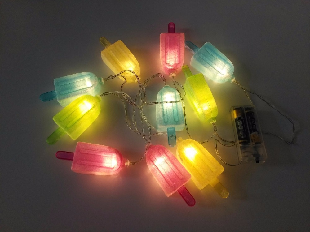 Aliexpress Com Buy Fashion Cute Popsicle Battery Light