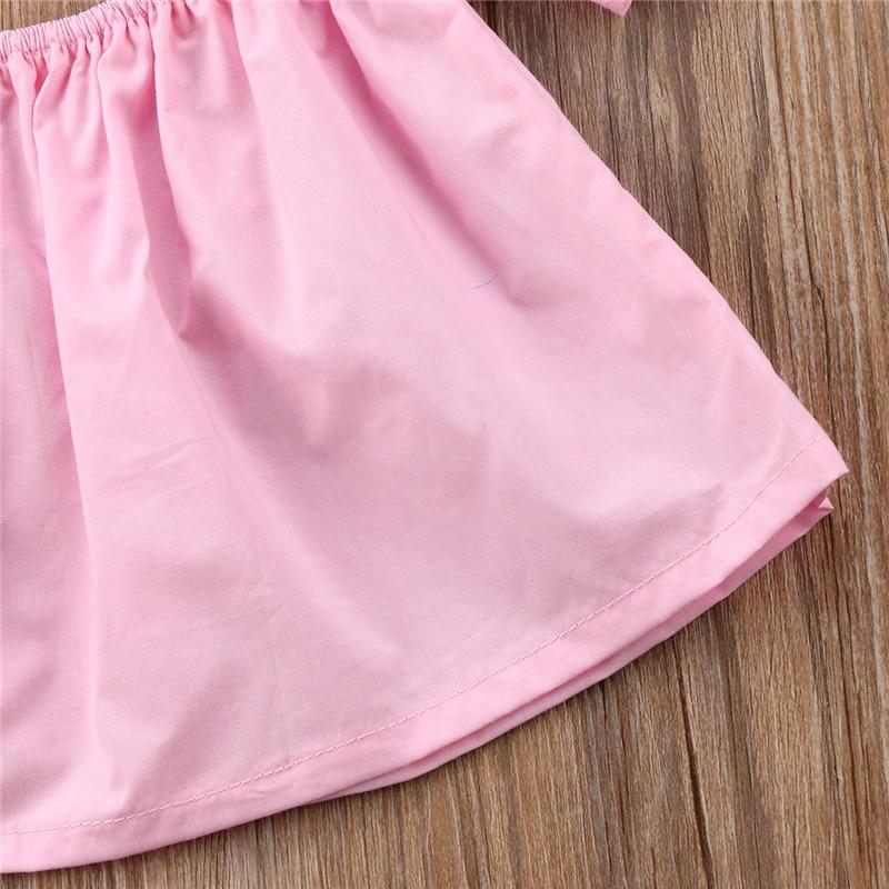 2dba658eeb54 Newborn Baby Girls Princess Ruffle T shirt Tops New Fashion Cute Baby Girls  Off Shoulder Crop Top T shirt Summer Sunsuit-in Tees from Mother   Kids on  ...