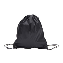 c22727a5654 Premium School Drawstring Duffle Bag Sports Gym Swim Dance Shoe Waterproof  Backpack Travel String Bag carry