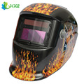 Girl Solar Auto Darkening Electric Welding Helmet TIG MIG MMA Grinding Welding Face Mask Welder Cap Lens For Welding Machine