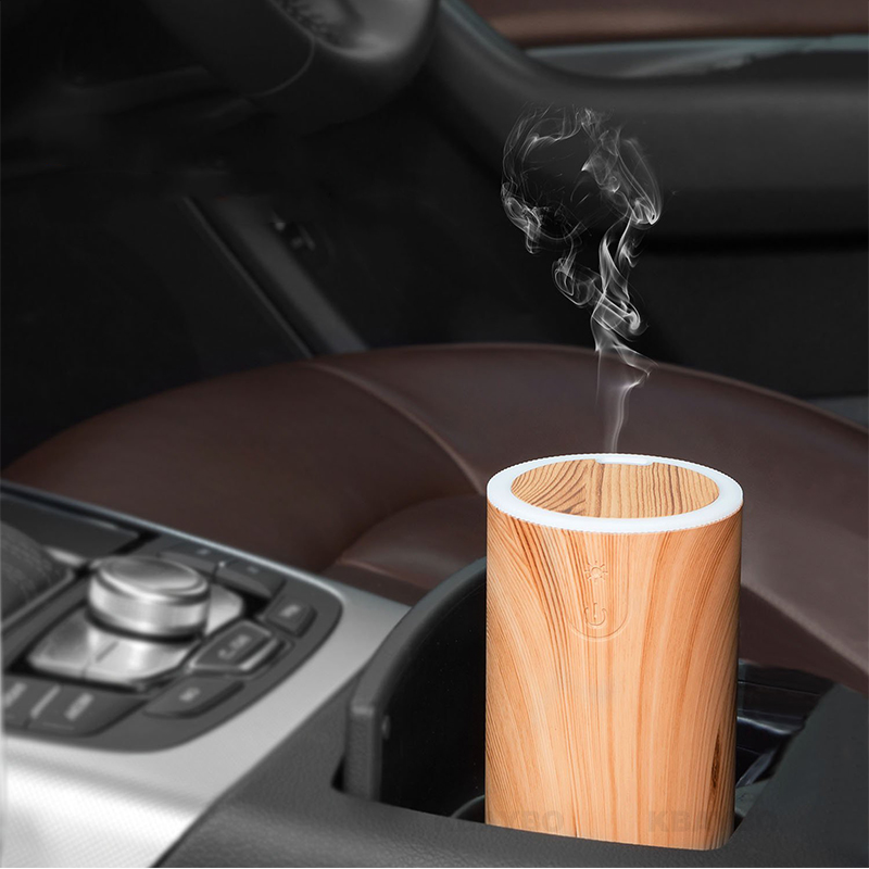 KBAYBO 50ML USB Aromatherapy Essential Oil Diffuser Car Portable Mini Ultrasonic Cool Mist Aroma Air Humidifier For Home Office