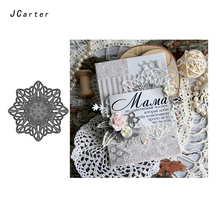 JC Metal Cutting Dies for Scrapbooking Cut Lace Hollow Background Frame Craft Stencil Card Making Model Template Decoration