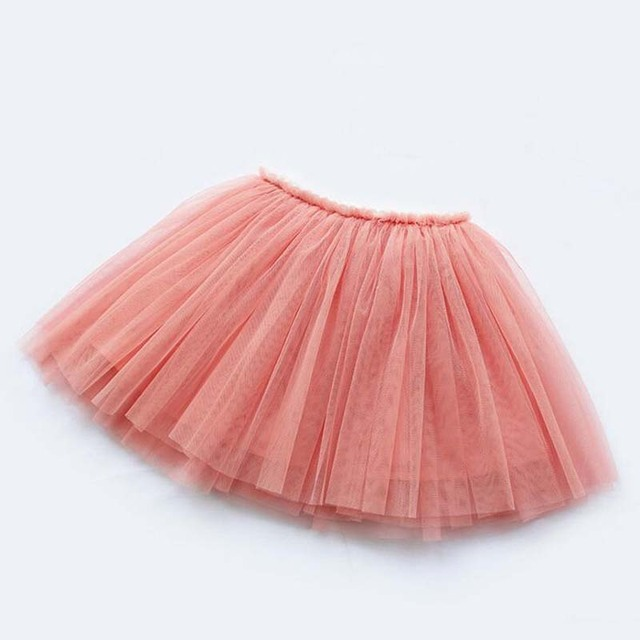 girls skirts princess lovely tutu skirts for 1-12Years kids spring summer clothes 21 color short girls lace skirt dance clothes 2