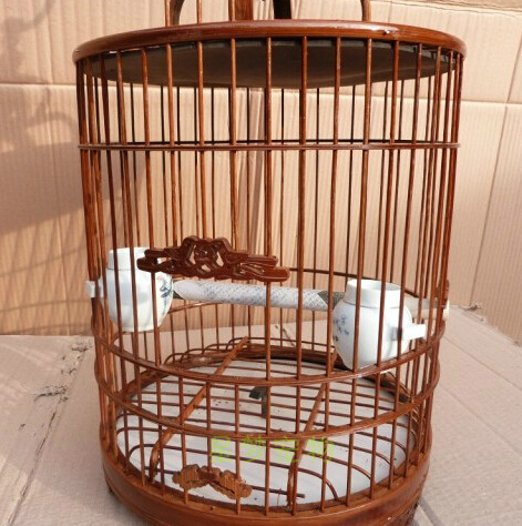 Bambou oiseau cages maison jardin décoration passe-temps cadeau oiseau fournitures accessoires pour animaux de compagnie