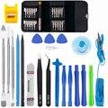 Профессиональный 46 в 1 мобильный телефон набор инструментов для ремонта открывания экрана отвертка разборка набор инструментов для iPhone ...