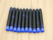 10pc RED BLUE OR BLACK Standard replacement 2.6MM GIFT Fountain Pen ink