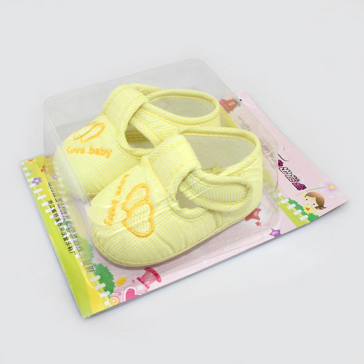 Cute Heart Print Baby Shoes Infant Girl Boy Anti-slip Soft Cotton Soled Sneaker