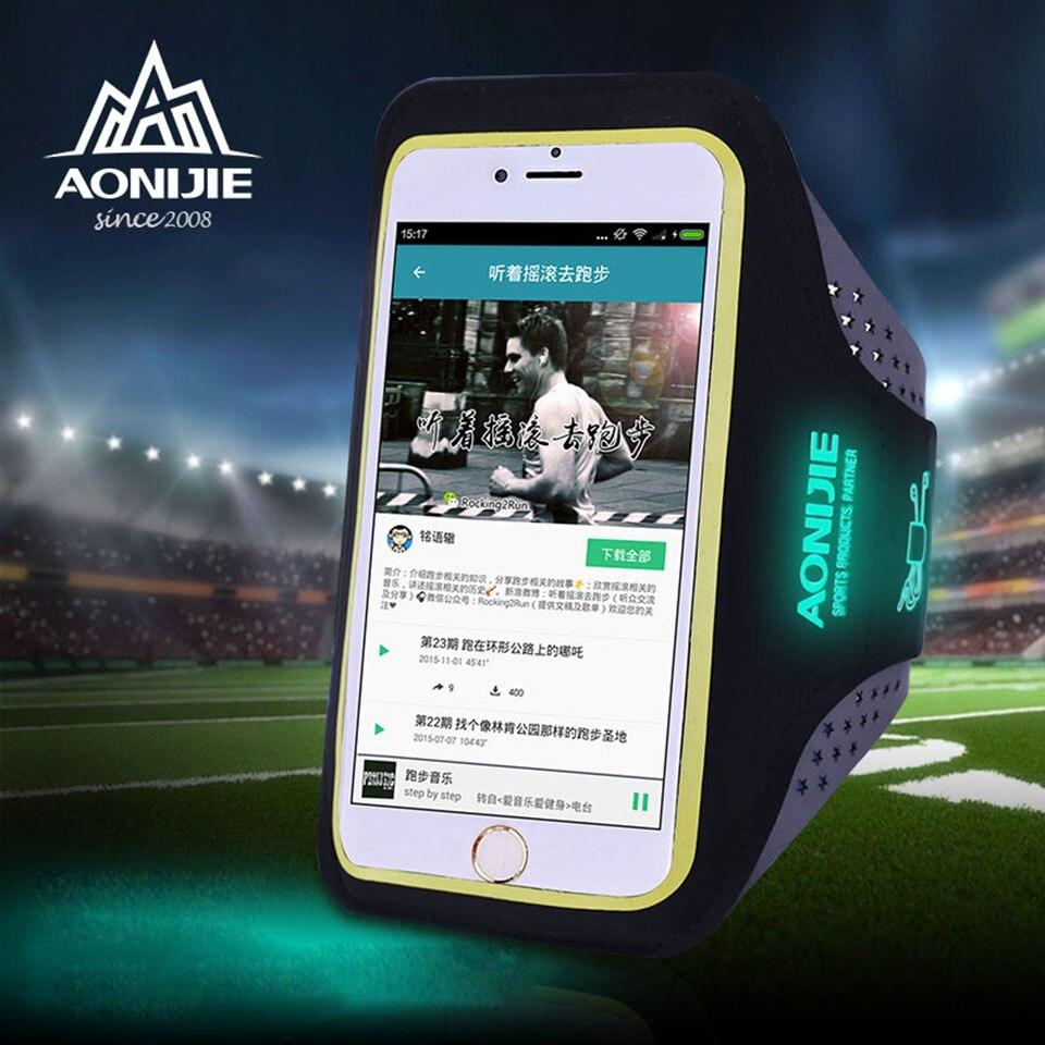 AONIJIE Outdoor Ultra Light Sport Running Bag Мөлдір - Спорттық сөмкелер - фото 3