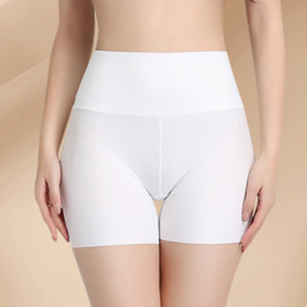 Women Fashion Nylon Compressed Underwear Seamless Briefs High Waist Slimming Non-trace High Quality  Women's Safety Short Pants