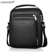 2019 New Fashion designer high quality PU leather men shoulder bag casual zipper office messenger bags for men Crossbody Bags стоимость