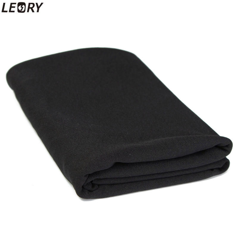 LEORY Black Speaker Grill Protective Cloth Stereo Gille Fabric Speaker Mesh Cloth Thick 50x160cm